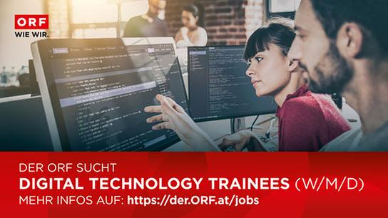 ORF – Technologie Traineeship ab Herbst 2021