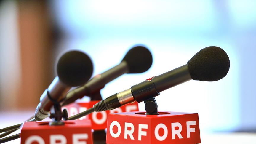 Aktuelles - Mikrofone mit ORF-Logo
