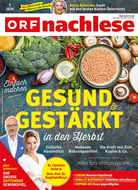 ORF nachlese September 2020: Cover