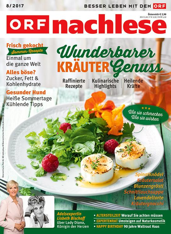 """ORF nachlese August 2017"": Cover"