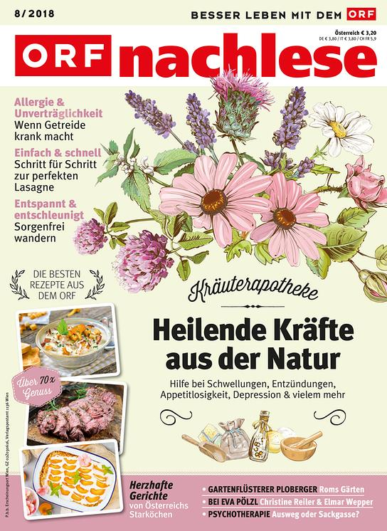 ORF nachlese August 2018: Cover