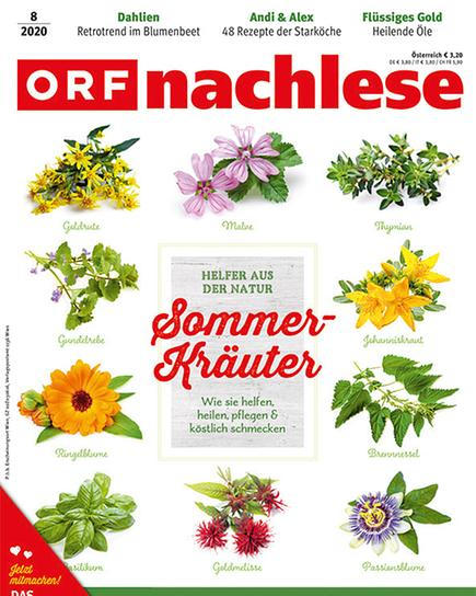 ORF nachlese August 2020: Cover
