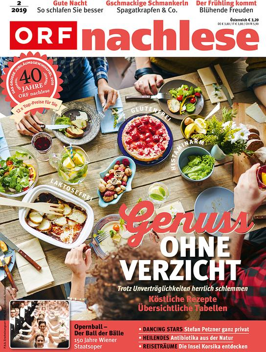 """ORF nachlese Februar 2019"": Cover"