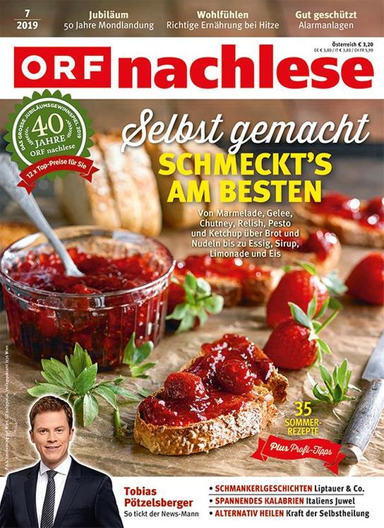 ORF nachlese Juli 2019: Cover