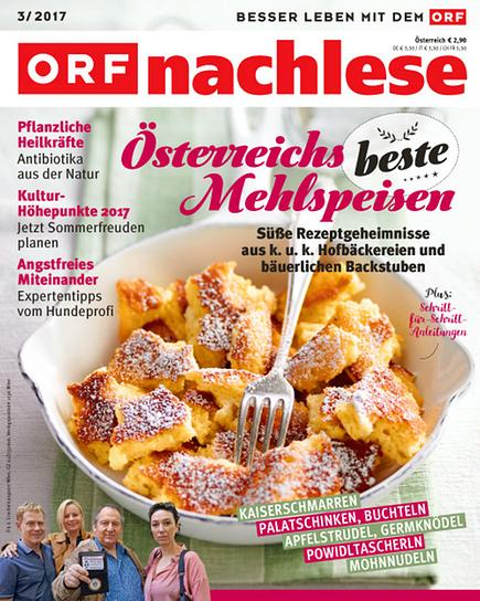 ORF nachlese März 2017: Cover