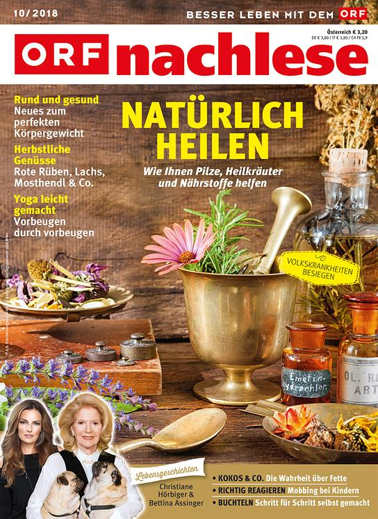ORF nachlese Oktober 2018: Cover