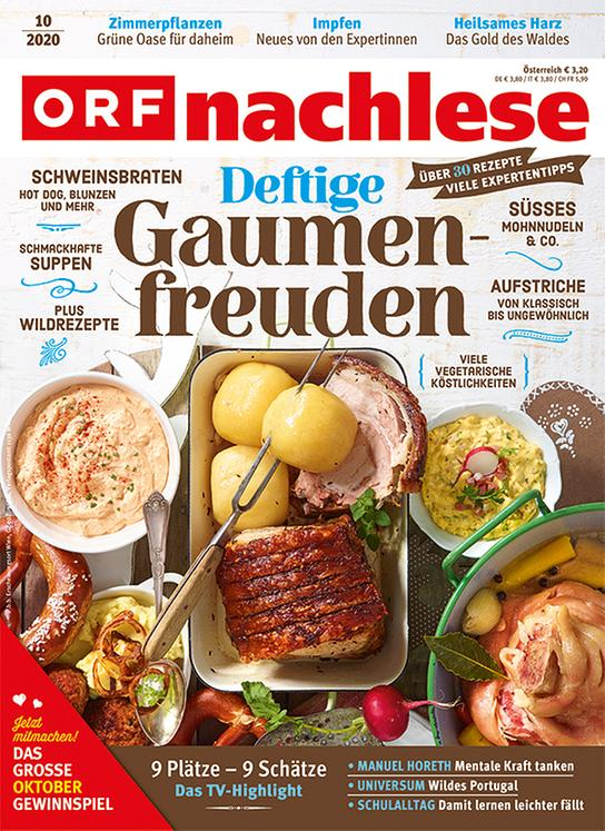 ORF nachlese Oktober 2020: Cover