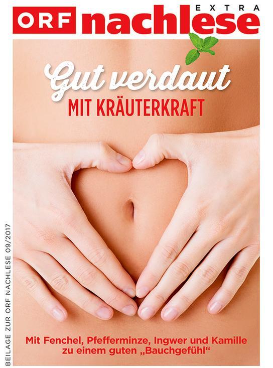 """nachlese September 2017: Booklet """"bewusst gesund - Aus dem Bauch"""""""