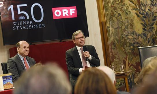 Pressekonferenz 150 Jahre Wiener Staatsoper: Umfangreicher ORF-Programmschwerpunkt präsentiert