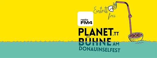 Die FM4-Planet-Bühne am Donauinselfest 2016 - Motiv