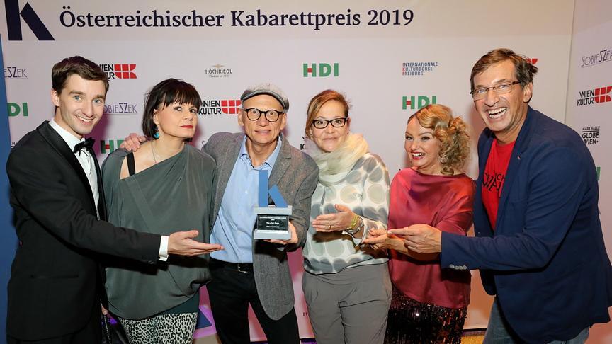 """Österreichischer Kabarettpreis: """"Was gibt es Neues?"""" erhält Publikumspreis"""