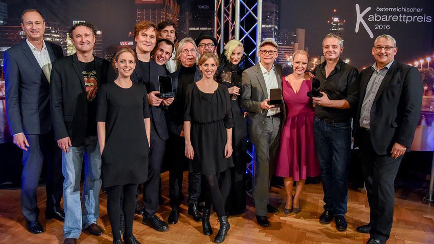 """""""Österreichischer Kabarettpreis 2016"""":"""