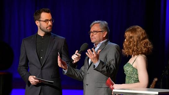 """""""Kultursommer 2019"""": Peter Fässlacher, Dr. Alexander Wrabetz (ORF-Generaldirektor), Teresa Vogl"""