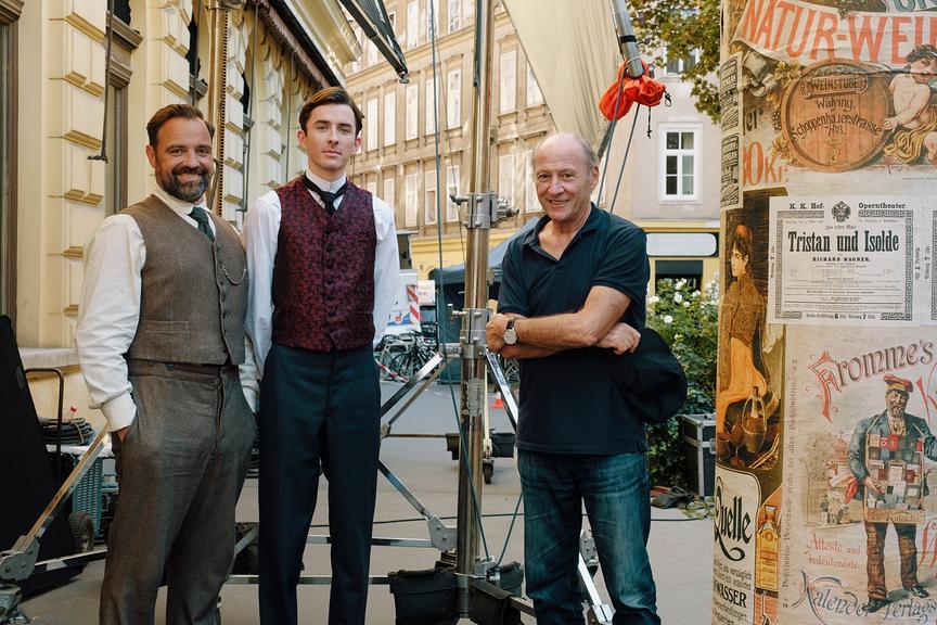 """Vienna Blood 2"": Juergen Maurer, Matthew Beard, Robert Dornhelm"