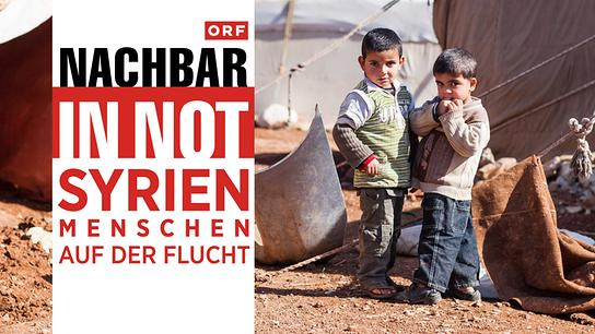 Nachbar in Not Syrien