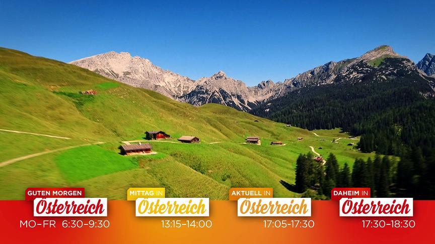 """""""Unterwegs in Österreich"""": Screenshot aus dem Promospot"""