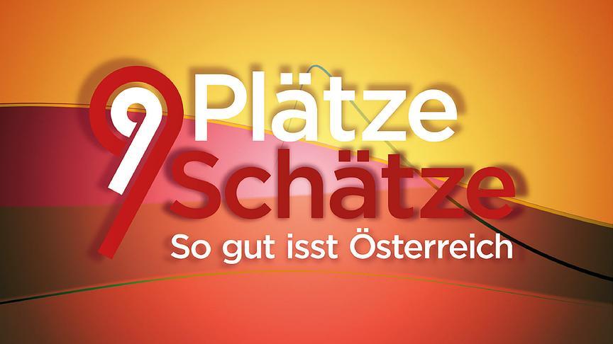 9 Plätze - 9 Schätze: So gut isst Österreich - Logo