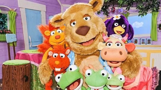 ABC Bär mit seinen Freunden