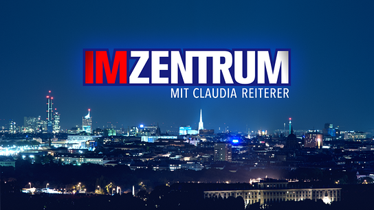 Im Zentrum mit Claudia Reiterer - Logo