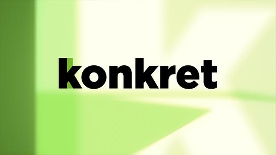"""Servicemagazin """"konkret"""": Logo (für kleine Anwendungen)"""