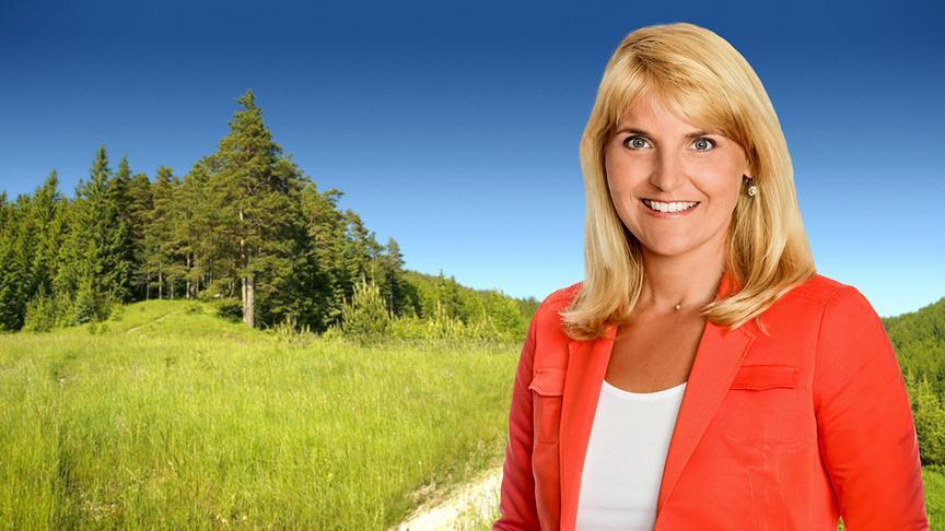 """""""Land und Leute""""-Moderatorin Birgit Perl"""
