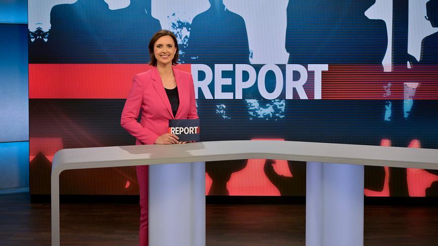 Susanne Schnabl im Report-Studio